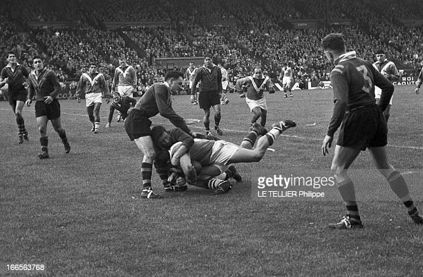 terrain de rugby stock photos and pictures