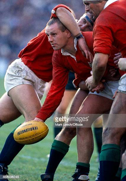 Rugby Australia v British Lions Dean Richards holds the ball in a rolling maul