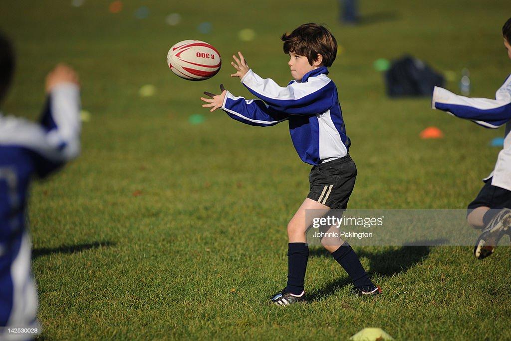 Rugby boy pass