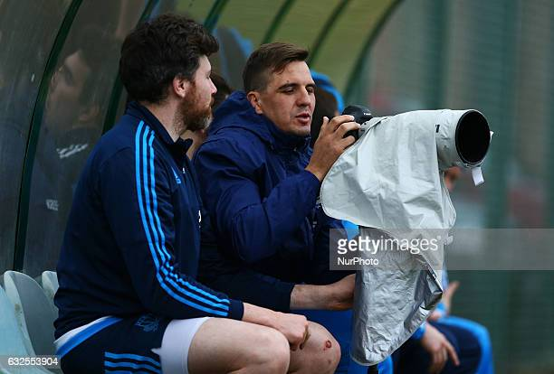 Rugby Italy team training session Dries van Schalkwyk at Sport Center Onesti in Rome Italy on January 23 2017