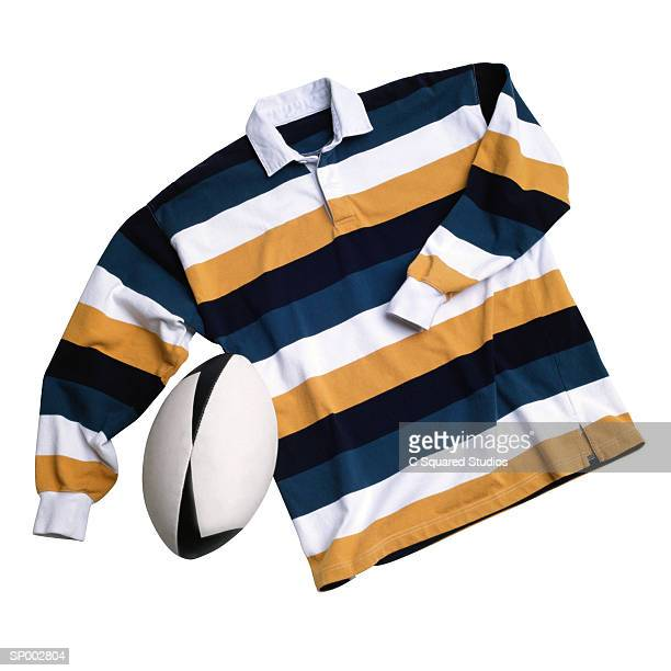 Rugby Jersey and Ball