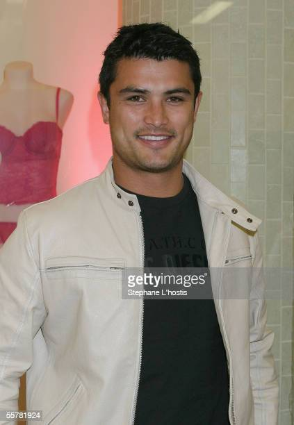 Rugby League Player Craig Wing attends La Senza Ultimate Lingerie Launch on September 27 2005 in Sydney Australia