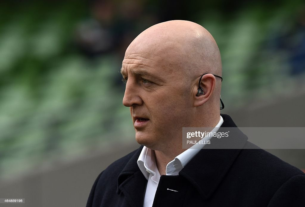Rugby legend <a gi-track='captionPersonalityLinkClicked' href=/galleries/search?phrase=Keith+Wood&family=editorial&specificpeople=855185 ng-click='$event.stopPropagation()'>Keith Wood</a>, former captain and hooker of Ireland and the British Lions on the pitch ahead of the Six Nations international rugby union match between Ireland and England at Aviva Stadium in Dublin, Ireland on March 1, 2015.