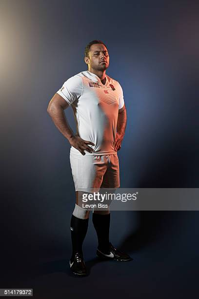Rugby player Billy Vunipola is photographed for ES magazine on July 6 2015 in London England