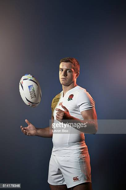Rugby player George Ford is photographed for ES magazine on July 6 2015 in London England