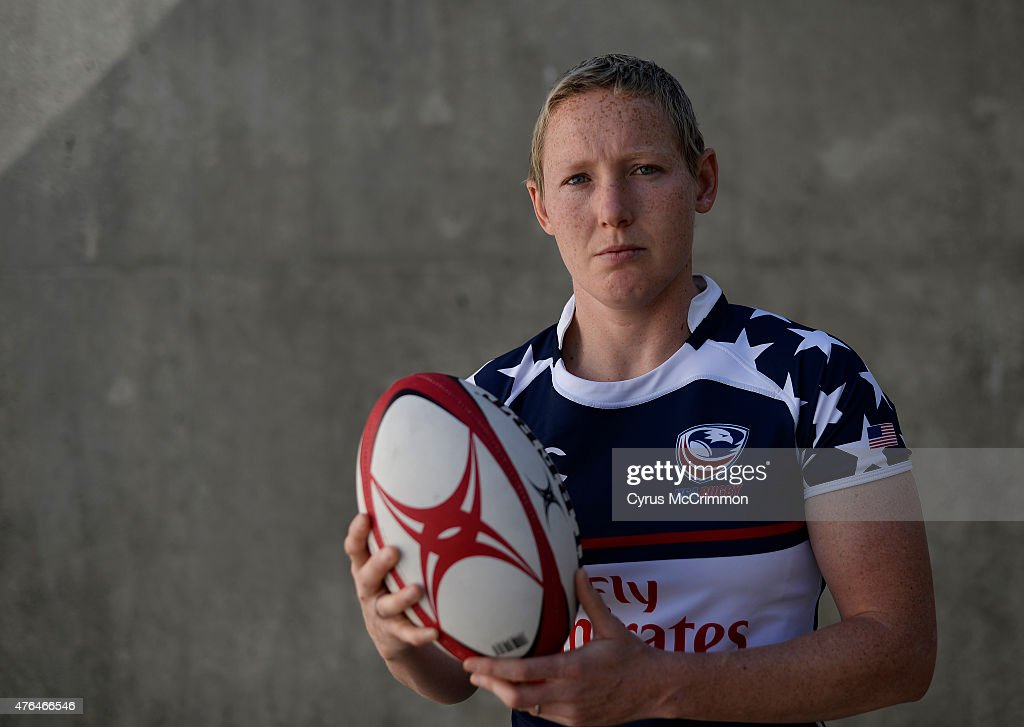Rugby player Jillion Potter hopes to make the US Olympic team for the 2016 Olympics She was photographed at Infinity Park in Glendale in her US...