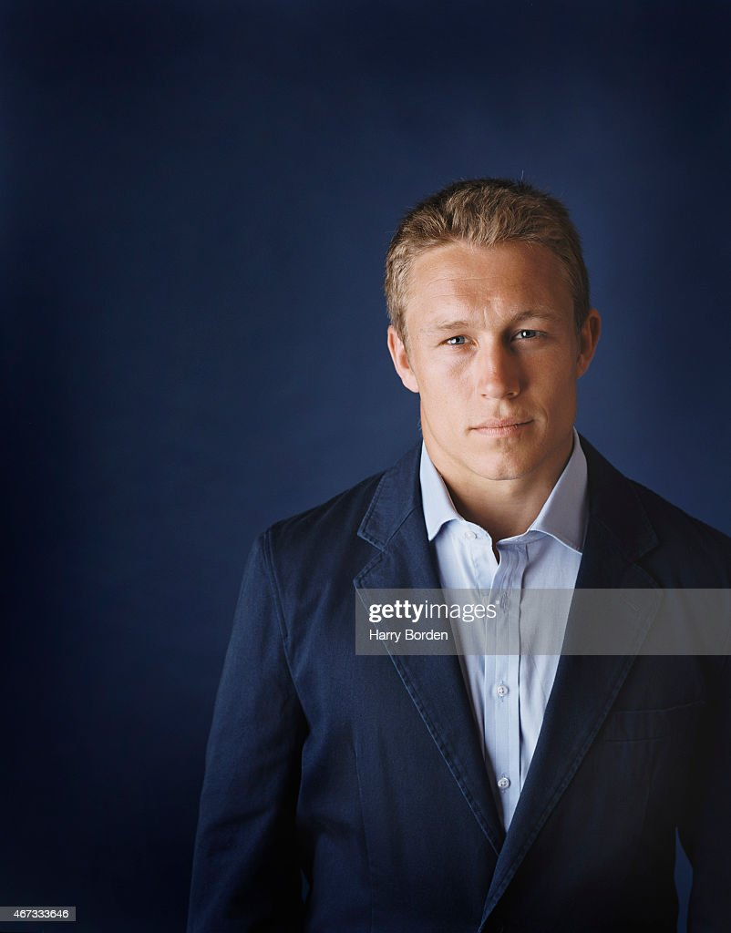 Rugby player Jonny Wilkinson is photographed for Hodder Headline on May 20, 2005 in London, England.