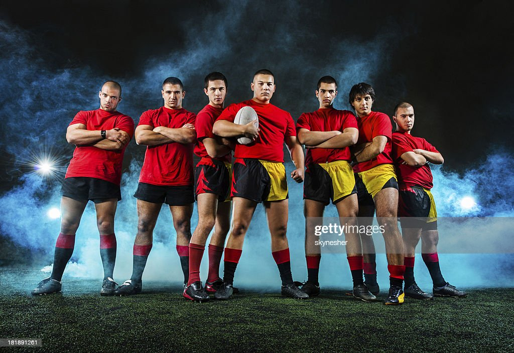 Rugby team.