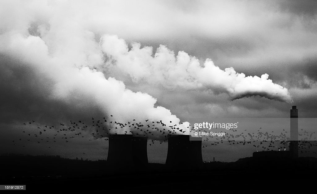 Rugeley power station : Stock Photo