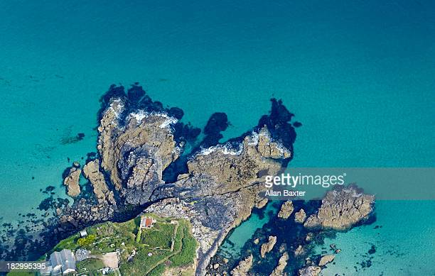 Rugged coastline of North Cornwall