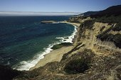 Rugged Pacific coast, Santa Cruz, CA