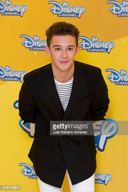 Ruggero Pasquarelli attends 'Soy Luna' photocal at Hesperia Hotel on March 17 2016 in Madrid Spain