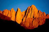 ruggged mountain wilderness landscape