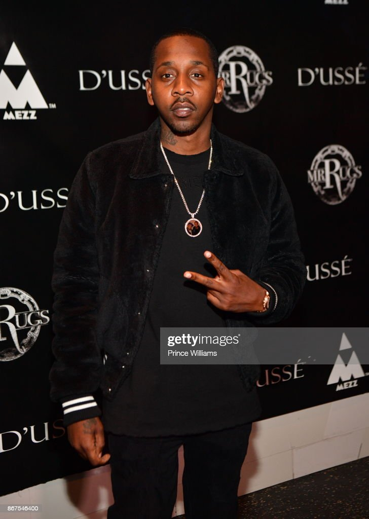 Ruggo Da Don Aka Mr Rugs Attends Mr Rugsu0027 All Black Affair At Gold Room