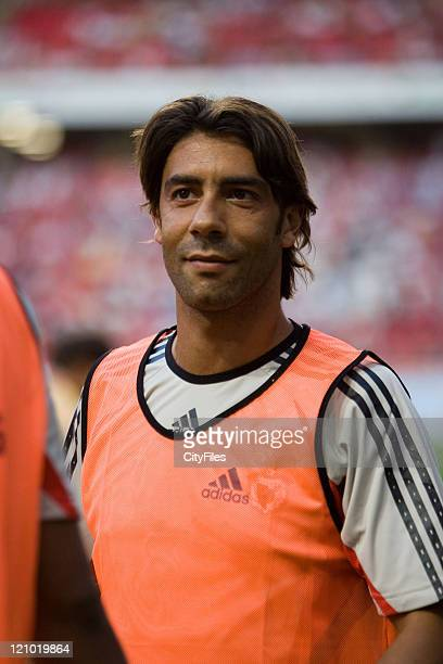 Rui Costa during UEFA Champions League Third Qualifying Round Second Leg Benfica vs FK Austria Wien August 22 2006 at Stadium of Light in Lisbon...
