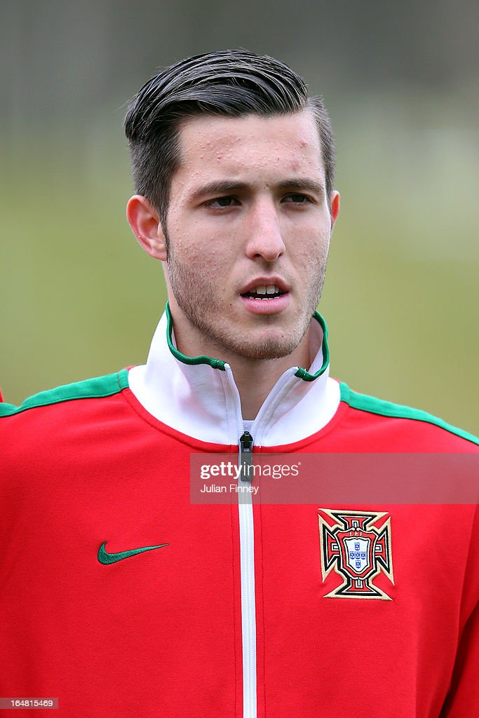 Rui Moreira of Portugal looks on during the UEFA European Under-17 Championship Elite Round match between Russia and Portugal on March 28, 2013 in Burton-upon-Trent, England.