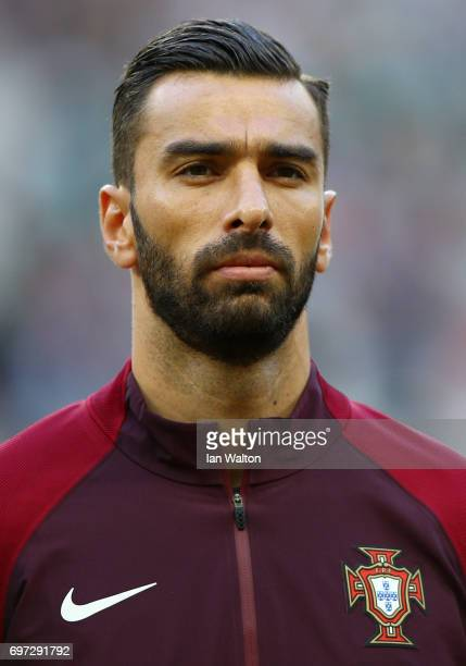 Rui Patricio of Portugal looks on prior to the FIFA Confederations Cup Russia 2017 Group A match between Portugal and Mexico at Kazan Arena on June...