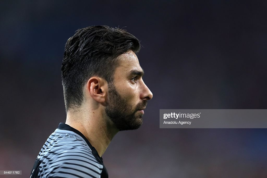 Rui Patricio of Portugal reacts during the Euro 2016 quarter-final football match between Poland and Portugal at the Stade Velodrome in Marseille on June 30, 2016.