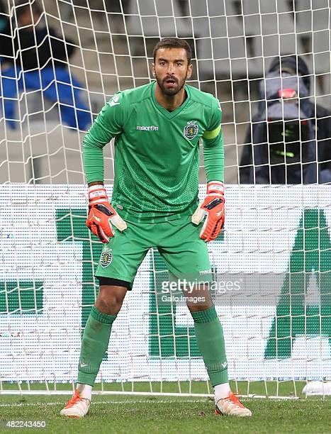 Rui Patricio of Sporting Club de Portugal during the 2015 Cape Town Cup match between Ajax Cape Town and Sporting Lisbon at Cape Town Stadium on July...