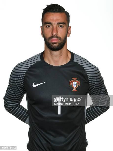 Rui Patricio poses for a picture during the Portugal team portrait session on June 15 2017 in Kazan Russia