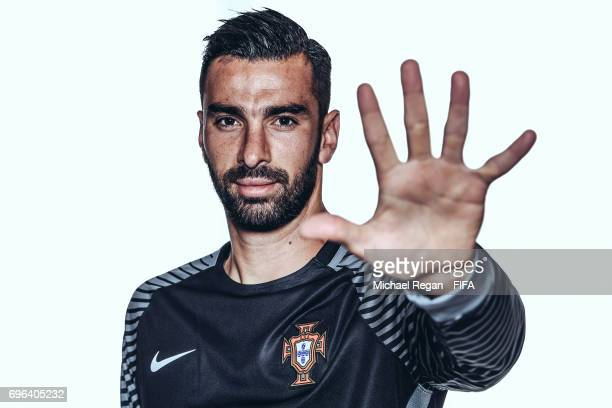 Rui Patricio poses for a picture during the Portugal team portrait session on June 15 2017 in Kazan Russia