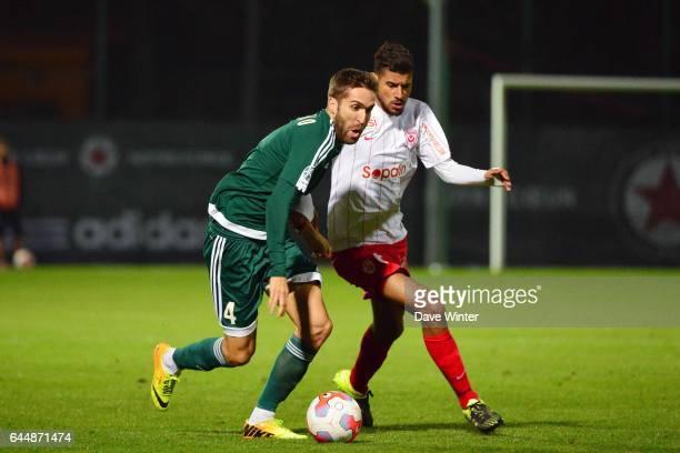 Rui SAMPAIO / Youssef AIT BENNASSER Red Star / Nancy Ligue 2 11e journee Photo Dave Winter / Icon Sport