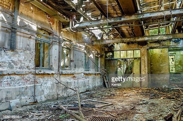 Foto de una antigua fábrica