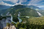 Ruinaulta View at Flims
