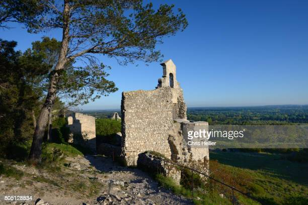 Ruined Church or Chapel in the Old Village of Eygalières in the Alpilles Provence