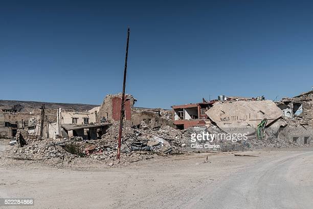 Ruins in the city of Sinjar Scenes from the now destroyed city of Sinjar which was recently liberated from ISIL militants who originally captured the...