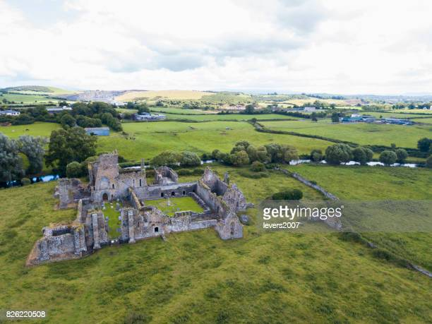 Ruins of an old castle, Athassel Abbey, Golden, Co. Tipperary, Ireland
