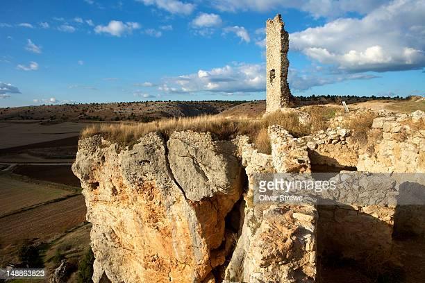Ruins of former castle of Calatanazor.
