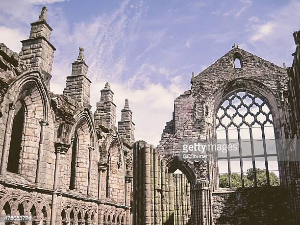 Ruins of Holyrood Abbey, Edinburgh