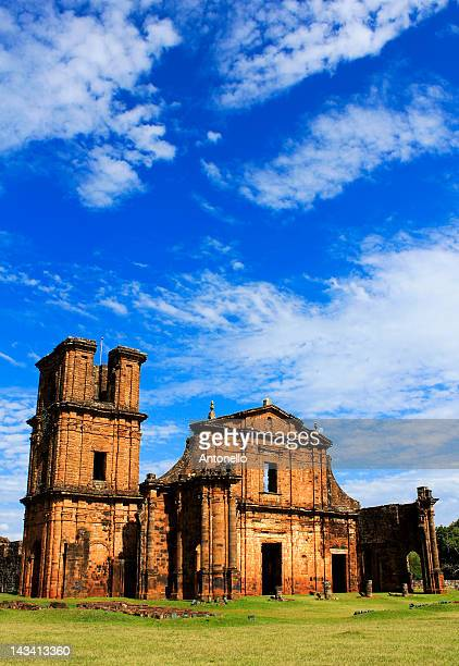 Ruins of Jesuit reduction of Sao Miguel