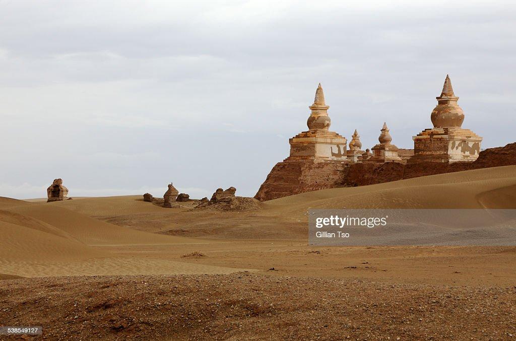Ruins of Khara-Khoto, Inner Mongolia, China