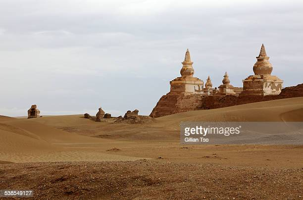 Ruins of Khara-Khoto, Inner Mongolia, China