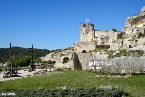Ruins of Les Baux-de-Provence Castle