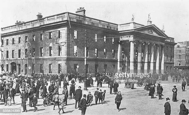 Ruins of the General Post Office Dublin Easter Rising