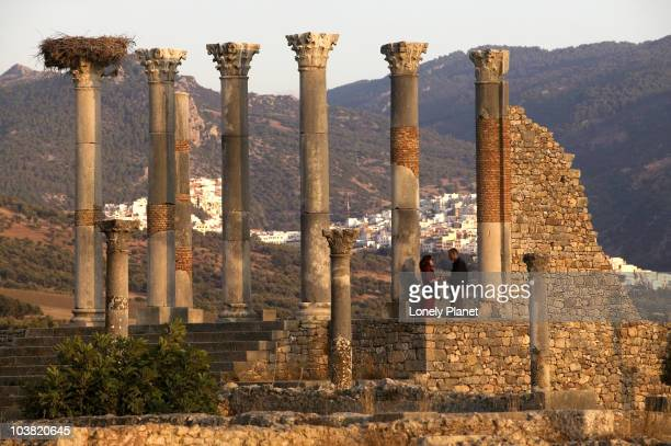Ruins of the Roman city of Volubilis.