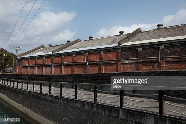 Ruins of Toyobo Warehouse, Yawatahama, Ehime, Japan