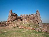 Ruins of Watchtower at Tughlaqabad Fort, New Delhi