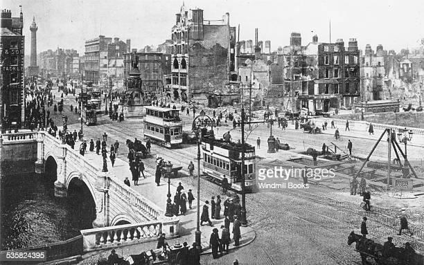 Ruins Sackville street Easter Uprising 1916