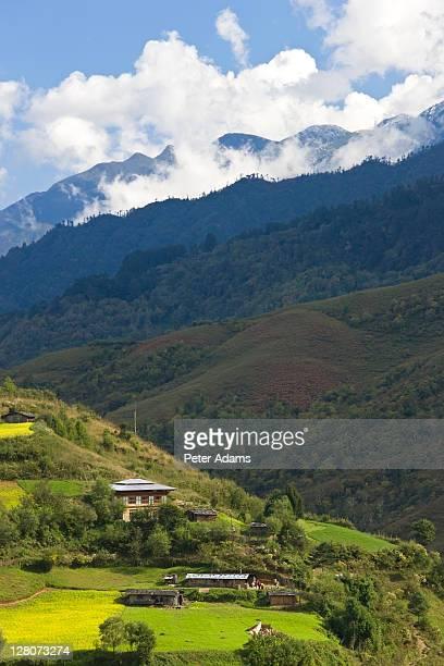 Rukhubji, Bumthang Valley, Bhutan