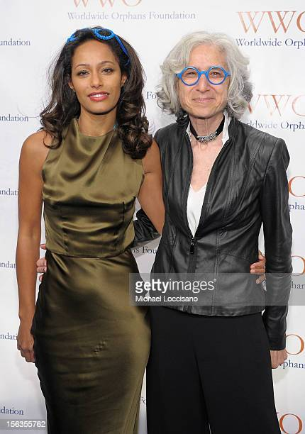 Rula Jebreal and Founder and CEO of WWO Dr Jane Aronson attend the Worldwide Orphans 15th Anniversary Benefit Gala at Cipriani Wall Street on...