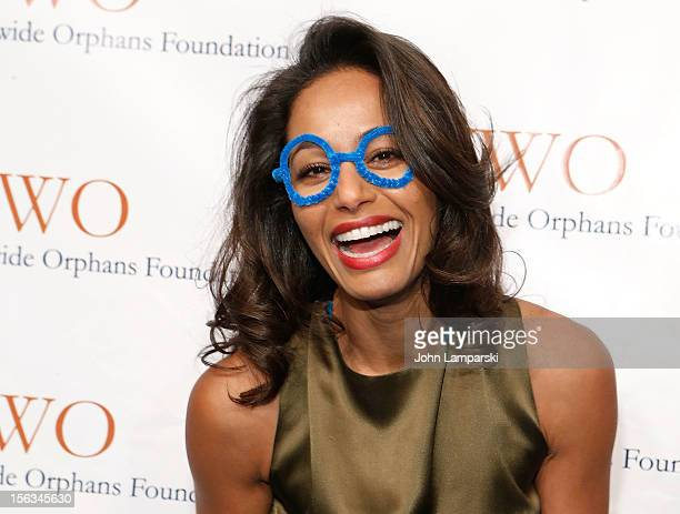 Rula Jebreal attends the 15th Anniversary Worldwide Orphans Benefit Gala at Cipriani Wall Street on November 13 2012 in New York City