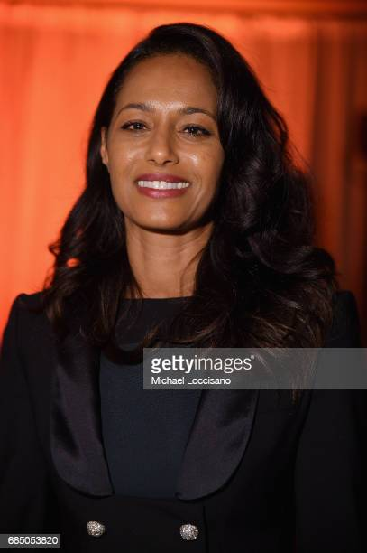 Rula Jebreal attends the Eighth Annual Women In The World Summit at Lincoln Center for the Performing Arts on April 5 2017 in New York City