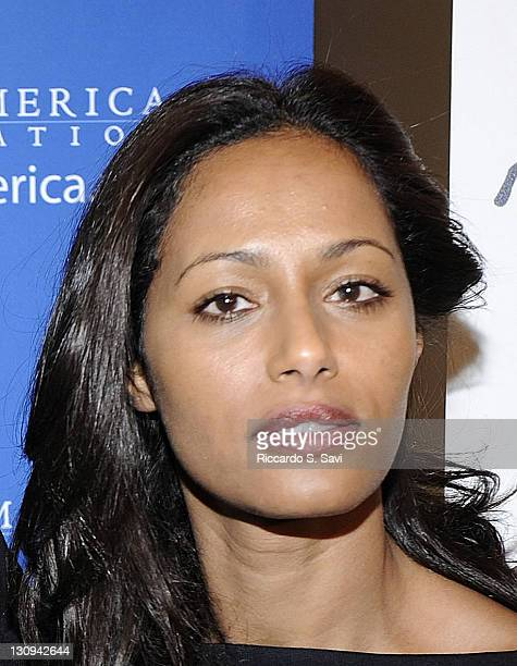Rula Jebreal attends the screening of 'Miral' at West End Cinema on March 29 2011 in Washington DC