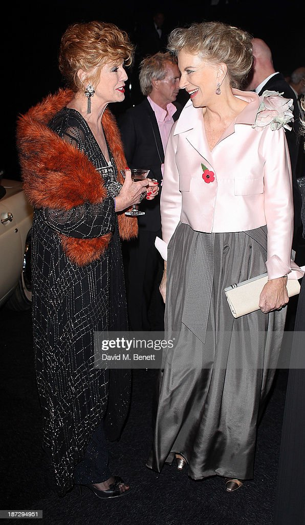 Rula Lenska and Princess Michael of Kent attend the annual Collars and Coats gala ball in aid of Battersea Dogs & Cats home at Battersea Evolution on November 7, 2013 in London, England.