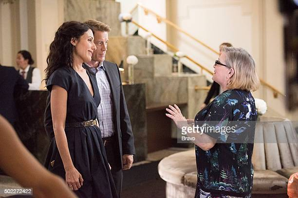 GIRLFRIENDS' GUIDE TO DIVORCE 'Rule Beware of the Second Chance' Episode 206 Pictured Lisa Edelstein as Abby McCarthy Mark Valley as Dr Harris Carrie...