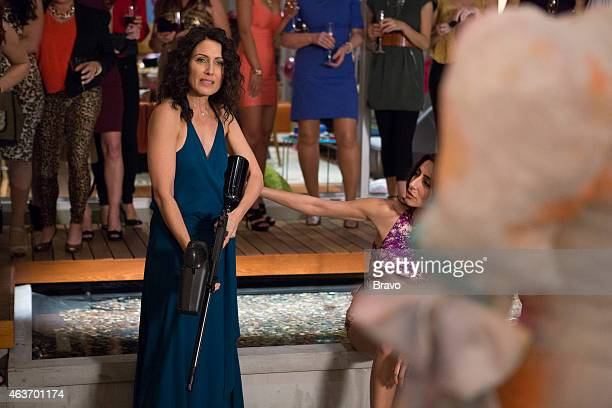 GIRLFRIENDS' GUIDE TO DIVORCE 'Rule Know When It's Time To Move On' Episode 113 Pictured Lisa Edelstein as Abby Necar Zadegan as Delia